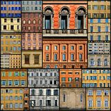 Windows Collage Royalty Free Stock Images