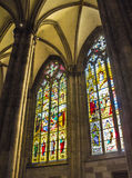 Windows of Cologne cathedral Stock Images