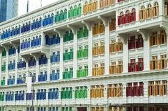 Windows of colors Royalty Free Stock Images