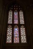 Windows com imagens religiosas Foto de Stock