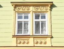 Windows com ornamento Fotos de Stock Royalty Free