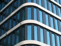 Windows. Comercisal biulding, city, office stock images