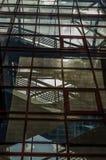 Windows con las escaleras Imagen de archivo
