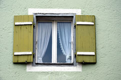 Windows con los obturadores Imagen de archivo libre de regalías
