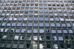 Windows in concrete building Stock Photography