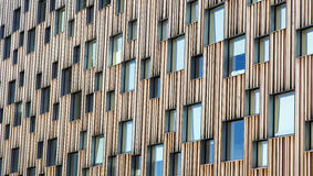 Windows Covereing Building Royalty Free Stock Photos