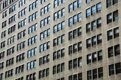 Windows da construção moderna da cidade Fotos de Stock