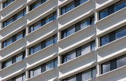 Windows da costruzione moderna Immagine Stock Libera da Diritti