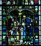 Windows da York-Igreja Imagens de Stock Royalty Free