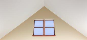 Windows dans la crête d'un plafond voûté Image libre de droits