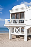 Windows dans la plage Photographie stock libre de droits
