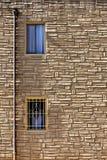 Windows dans le mur Images libres de droits