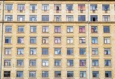 Windows dans une rangée Photos stock