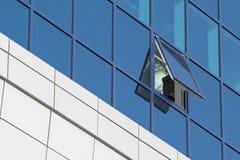 Windows de buliding moderno imagem de stock royalty free
