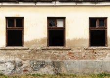 Windows de la casa Fotografía de archivo libre de regalías