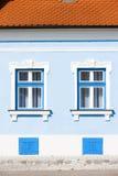 Windows de la casa Foto de archivo libre de regalías