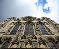 Windows de la iglesia de monasterio de York Fotografía de archivo libre de regalías