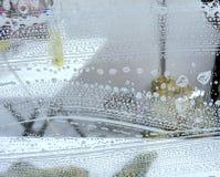 Windows de lavagem, agente de limpeza para o vidro Imagens de Stock