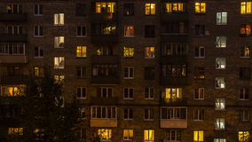 Windows de maison de logement banque de vidéos