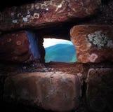 Windows de pierre Photo stock