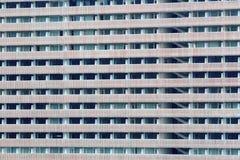 Windows de plan rapproché de bâtiment Photographie stock libre de droits