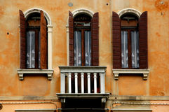 Windows de série de Venise Photo libre de droits