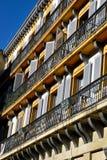 Windows de San Sebastian Fotos de archivo libres de regalías