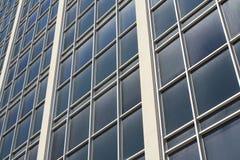 Windows de um arranha-céus Foto de Stock Royalty Free