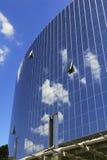 Windows de um edifício do hotel Fotos de Stock
