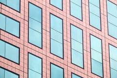 Windows de uma construção Foto de Stock Royalty Free
