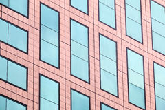 Windows de un edificio Foto de archivo libre de regalías