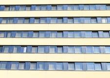 Windows de un hotel Pyramida Fotografía de archivo