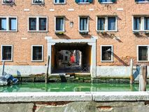 Windows de Veneza imagem de stock