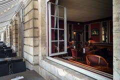 Windows de vieux centrel à Nancy, France Images stock