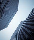Windows degli edifici per uffici Immagini Stock Libere da Diritti