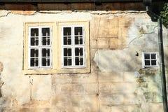 Windows del castillo Foto de archivo libre de regalías