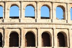 Windows del colosseum Fotografía de archivo libre de regalías