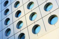 Windows del edificio moderno Fotografía de archivo libre de regalías