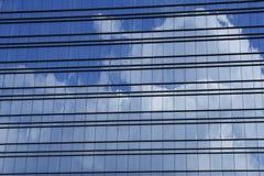 Windows del edificio moderno Imagen de archivo libre de regalías