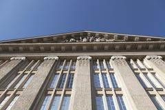 Windows del edificio viejo Foto de archivo libre de regalías