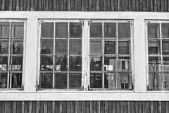 Windows del pasado Imagen de archivo libre de regalías