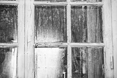 Windows del passato Fotografie Stock
