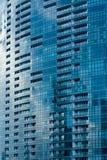 Windows del rascacielos futurista Fotografía de archivo libre de regalías