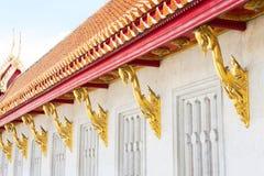 Windows del templo Imágenes de archivo libres de regalías