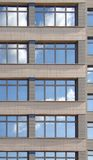 Windows dell'edificio per uffici Fotografie Stock