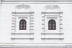 Windows della chiesa dell'ingresso di ascensione immagine stock libera da diritti