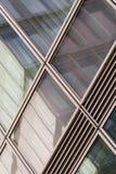 Windows della torre moderna di affari Fotografie Stock Libere da Diritti