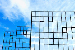 Windows in den Himmeln Stockbilder