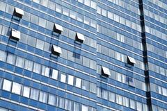 Windows der Bürohaus Lizenzfreie Stockbilder