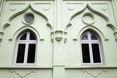 Windows der Moschee Stockbild